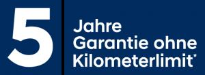 5 Jahre Garantie PKW