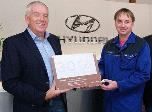 30 Jahre Hyundai